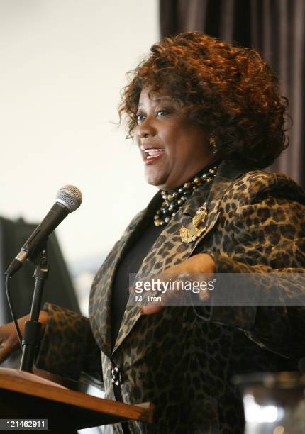 Loretta Devine during NAACP Theatre Awards Nominations - January 16, 2007 at The Roosevelt Hotel in Hollywood, California, United States.