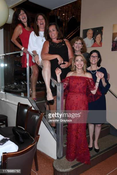 Loretta Frankini Dani Barro Pat Brady Eve Dwoskin Lisa Scognamillo and Renza Faranello attend Patsy's Italian Restaurant's 75th Anniversary Diamond...