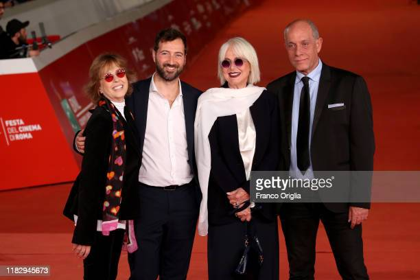 Loretta Goggi Daniela Goggi and guests attend the red carpet of the movie Hustlers during the 14th Rome Film Festival on October 23 2019 in Rome Italy