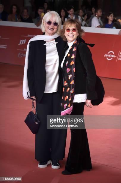 Loretta Goggi Daniela Goggi at Rome Film Fest 2019 Rome October 23rd 2019
