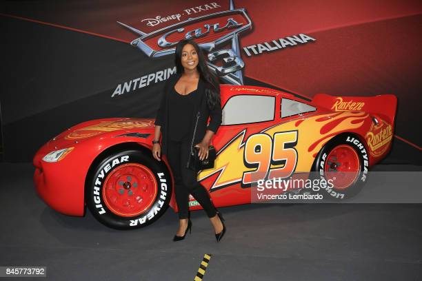 Loretta Grace attends Cars 3 photocall in Milan on September 11 2017 in Milan Italy