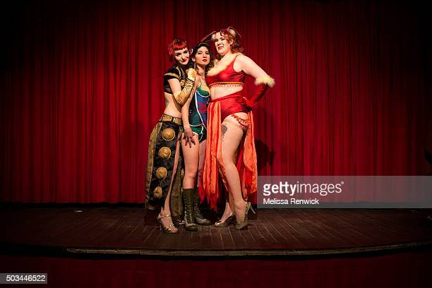 TORONTO ON DECEMBER 30 Loretta Jean Helen of Tronna and Delicia Pastiche banded together as Nerd Girl Burlesque to show the world that geeky nerdy...