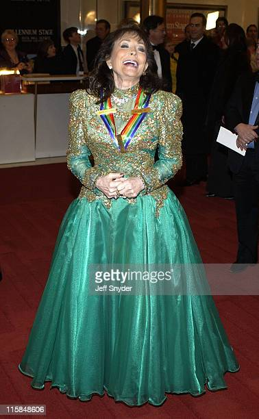 Loretta Lynn during 26th Annual Kennedy Center Honors at John F Kennedy Center for the Performing Arts in Washington DC United States