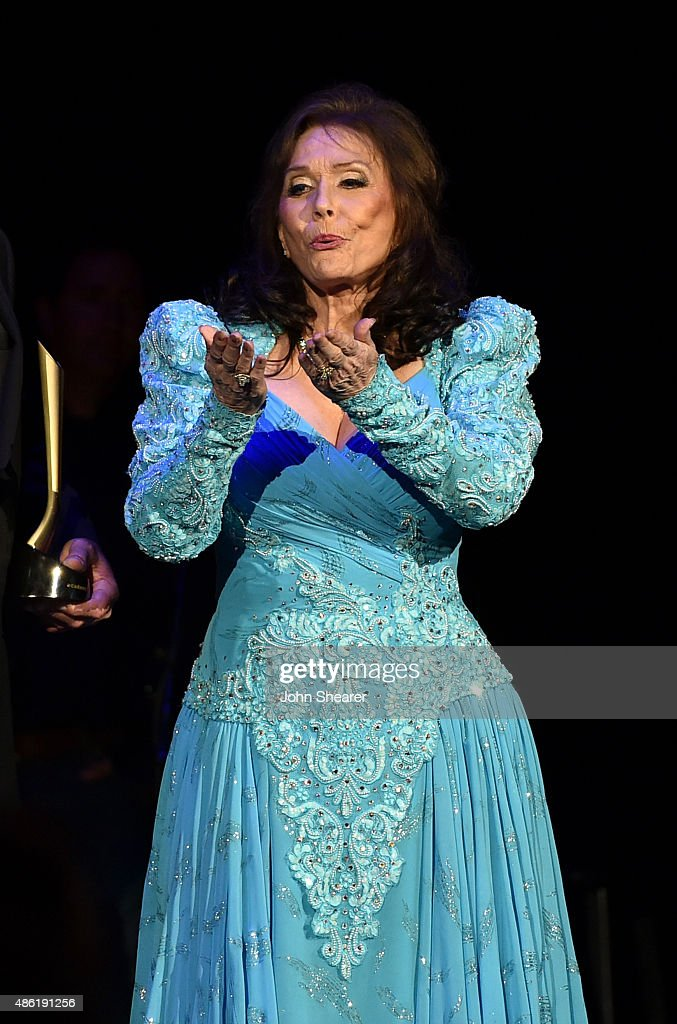 Loretta Lynn onstage during the 9th Annual ACM Honors at the Ryman Auditorium on September 1, 2015 in Nashville, Tennessee.