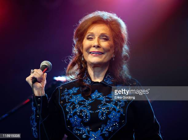 Loretta Lynn performs during the 2011 Bonnaroo Music and Arts Festival on June 11 2011 in Manchester Tennessee