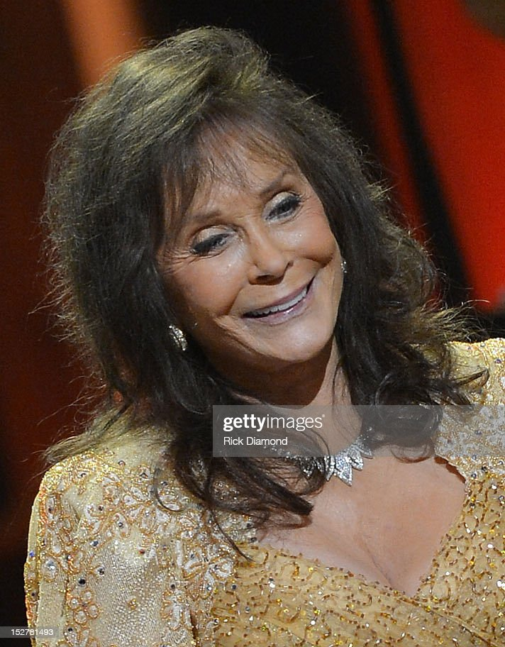 Loretta Lynn performs during the celebration of Loretta Lynn's 50th Opry Anniversary at The Grand Ole Opry on September 25, 2012 in Nashville, Tennessee.