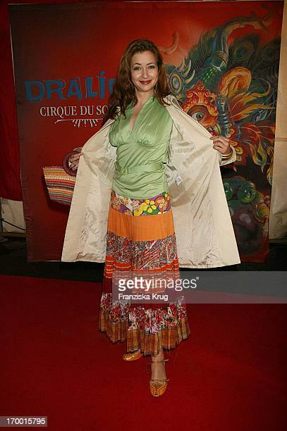 Loretta Stern at The 'Dralion' premiere from 'Cirque Du Soleil' in Berlin 300806