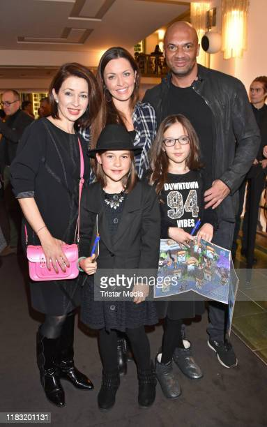 "Loretta Stern, Karline, Kate Hall, Ayana, Detlef D! Soost at the Young Show ""Im Labyrinth der Buecher"" at Friedrichstadtpalast on November 17, 2019..."