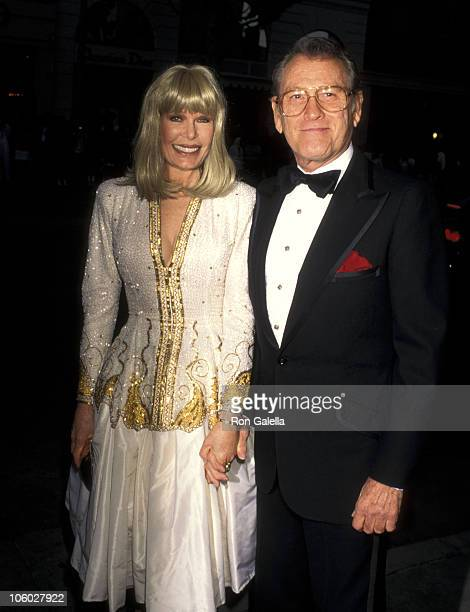 Loretta Swit and Earl Holliman during 88th Birthday Party for Milton Berle September 12 1996 at Alfred Dunhill Store in Beverly Hills California...
