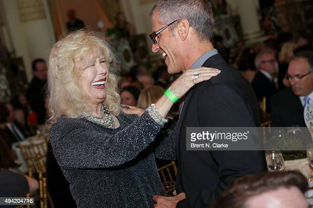 Loretta Swit and Gene Baur attend the 2015 Farm Sanctuary Gala held at The Plaza Hotel on October 24 2015 in New York City