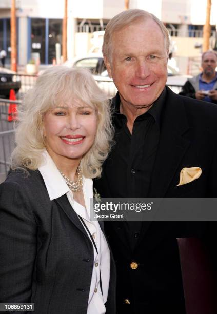 Loretta Swit and Wayne Rogers during Wayne Rogers Honored with a Star on the Hollywood Walk of Fame for His Achievements in Television at 7018...