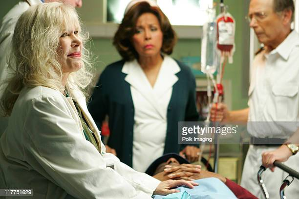 Loretta Swit Diahann Carroll and Bernie Kopell during 2006 TV Land Awards Spoof of Grey's Anatomy at Robert Kennedy Medical Center in Los Angeles...