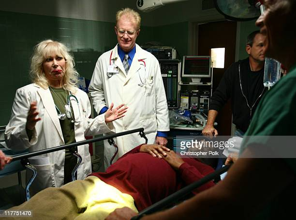 Loretta Swit Ed Begley Jr and Jimmie Walker during 2006 TV Land Awards Spoof of Grey's Anatomy at Robert Kennedy Medical Center in Los Angeles...