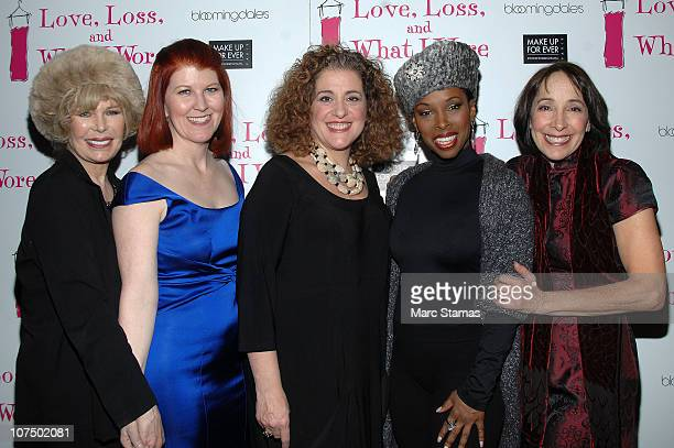 Loretta Swit Kate Flannery Mary Testa Brenda Braxton and Didi Conn attend the 'Love Loss And What I Wore' after party at B Smith's Restaurant on...