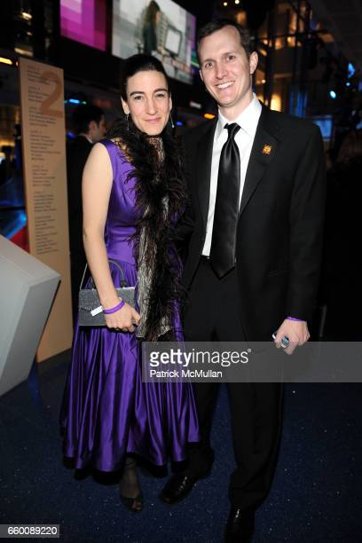 Loretta Whitesides and George Whitesides attend THE HUFFINGTON POST PreInaugural Ball at The Newseum on January 19 2009 in Washington DC