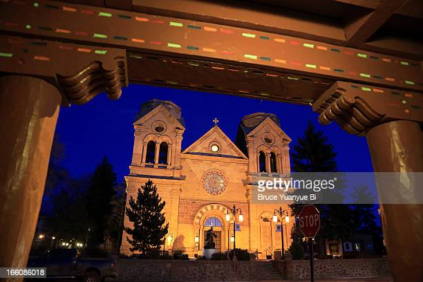 loretto chapel - santa fe new mexico stock pictures, royalty-free photos & images