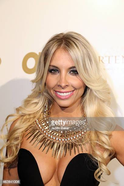 Lori Ann Marchese attends the OK 2015 Pre GRAMMY Party at Lure on February 5 2015 in Hollywood California