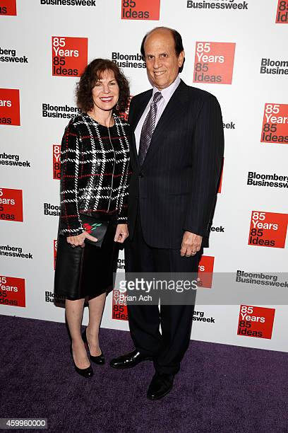 Lori Anne Hackel and Michael Milken attend Bloomberg Businessweek's 85th anniversary celebration at the American Museum of Natural History on...