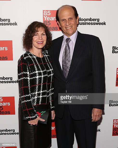 Lori Anne Milken and financier Michael Milken attend the Bloomberg Businessweek 85th Anniversary Celebration at the American Museum of Natural...