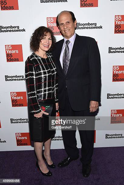Lori Anne Milkin and financier Michael Milken attend Bloomberg Businessweek's 85th Anniversary Celebration at The American Museum of Natural History...