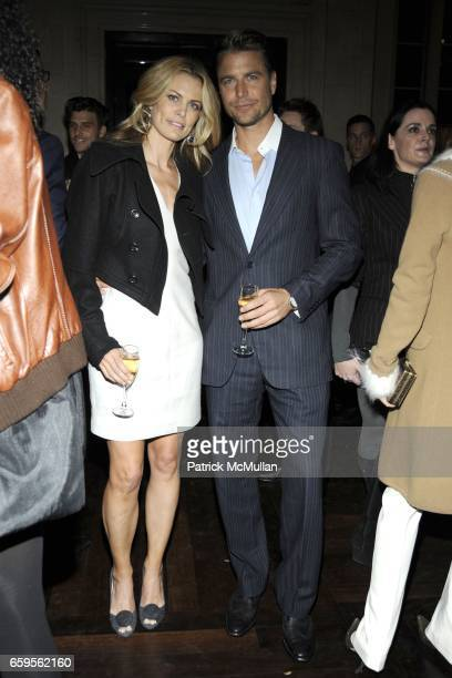Lori Baker and Berthil Espegren attend Gwyneth Paltrow and VBH's Bruce Hoeksema Host Cocktail Party for Valentino The Last Emperor at VBH on October...
