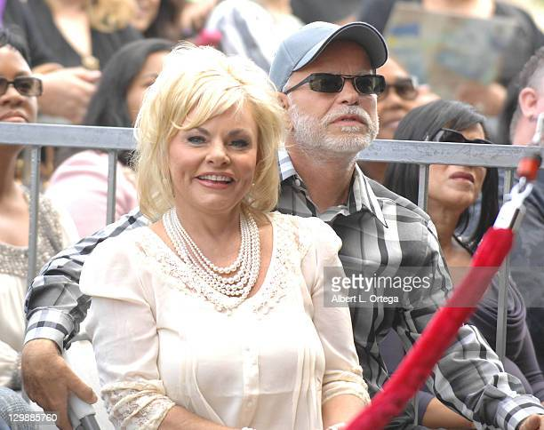 Lori Bakker and Jim Bakker attend the ceremony honoring BeBe Winans and CeCe Winans with a star on the Hollywood Walk of Fame on October 20 2011 in...