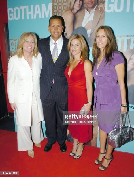 Lori Burgess, Alex Rodriguez, Cynthia Rodriguez and Cristina Greeven Cuomo