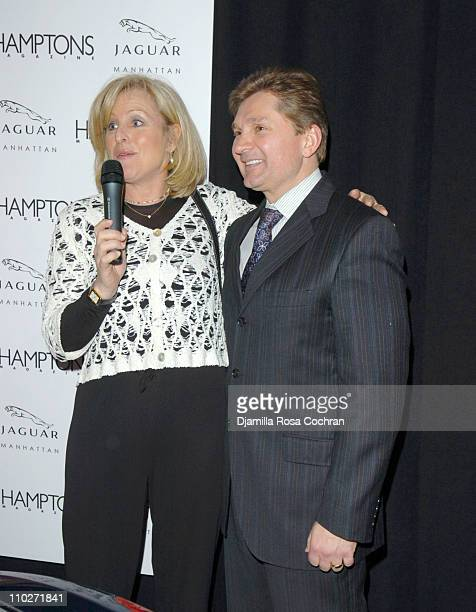 Lori Burgess Group Publisher of Niche Media and Gary Flom President and CEO of Manhattan Automobile Company