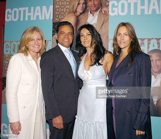 Lori Burgess, Joseph Moinian, President & CEO of the Moinian Group, Nazee Moinian and Cristina Greeven Cuomo