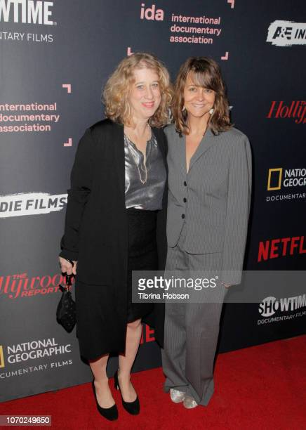 Lori Cheatle and Tracy McKnight of MATANGI / MAYA / attend the 2018 IDA Documentary Awards on December 8 2018 in Los Angeles California
