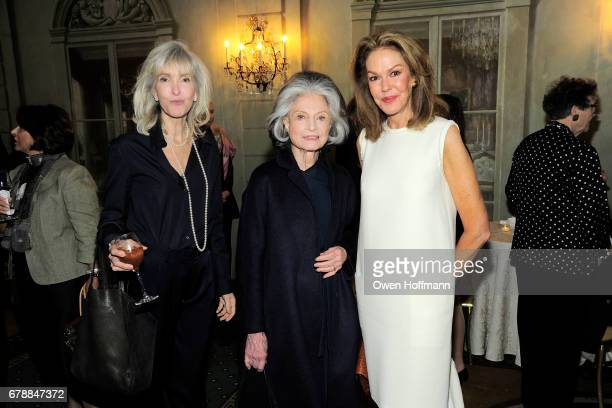 Lori Cuisinier Deeda Blair and Cece Cord attend Fountain House Symposium and Luncheon at The Pierre Hotel on May 1 2017 in New York City