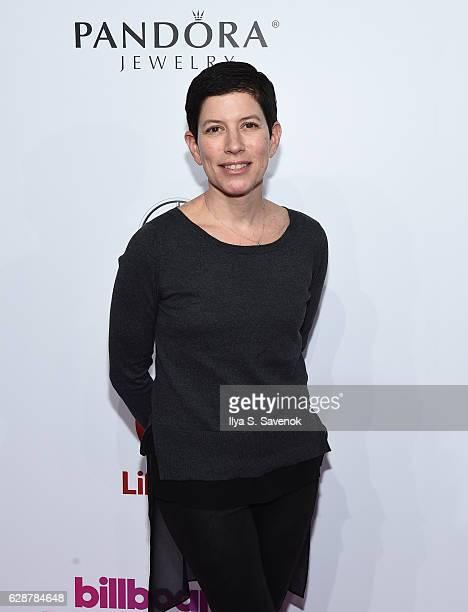 Lori Feldman attends Billboard Women In Music 2016 airing December 12th On Lifetime at Pier 36 on December 9 2016 in New York City
