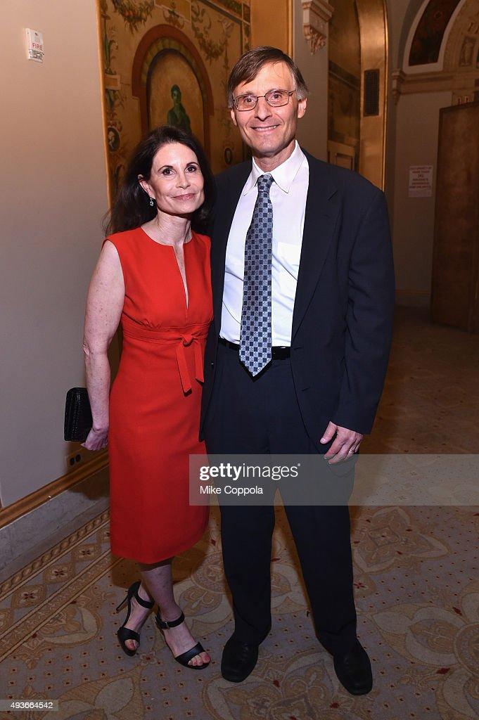 Lori Fink and Dr  Ben Neel attend NYU Langone Medical