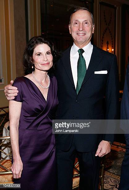 Lori Fink and Robert I Grossman attend The NYU Cancer Institute Gala at The Pierre Hotel on October 5 2010 in New York City