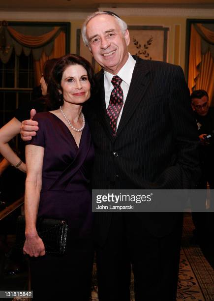 Lori Fink and Sheldon Pearl attends The NYU Cancer Institute Gala at The Pierre Hotel on October 5 2010 in New York City
