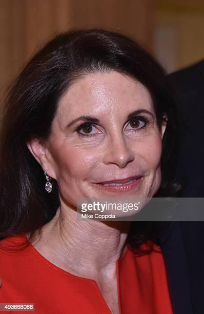 Lori Fink attends NYU Langone Medical Center's Perlmutter Cancer Center Gala at The Plaza Hotel on October 21 2015 in New York City