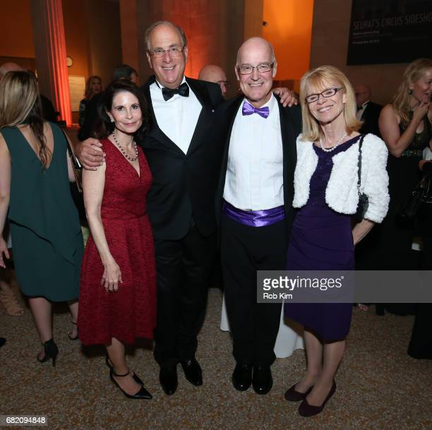 Lori Fink Lawrence Fink Andrew Hamilton and Jennie Hamilton attend NYU Langone Medical Center's 2017 Violet Ball at The Metropolitan Museum of Art on...