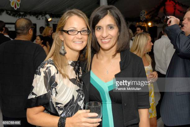 Lori Flynn and guest attend EVERYDAY HEALTH Third Anniversary Party at Hudson Hotel on September 17 2009 in New York City