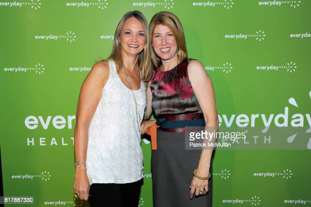 Lori Flynn and Lauren Klein attend EVERYDAY HEALTH Anniversary Party at Gansevoort Park Avenue South on September 23 2010 in New York City