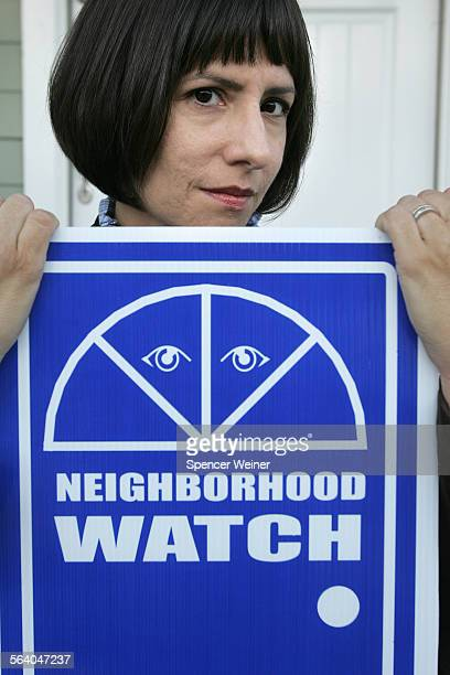 Lori Fontanes photographed at her home in neighborhood of Westwood Hills November 15 2006 Fontanes started a Neighborhood Watch group in her area and...