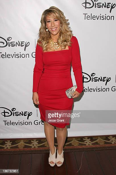 Lori Greiner arrives to Disney ABC Television Group's TCA Winter Press Tour at the Langham Huntington Hotel on January 10 2012 in Pasadena California