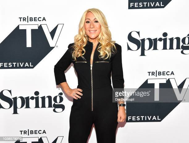 Lori Greiner attends the Tribeca Talks Panel 10 Years Of Shark Tank during the 2018 Tribeca TV Festival at Spring Studios on September 23 2018 in New...
