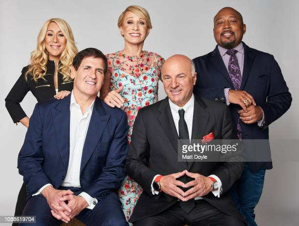 Lori Greiner Mark Cuban Barbara Corcoran Kevin OLeary and Daymond John of Tribeca Talks Ten Years of Shark Tank poses for a portrait during the 2018...