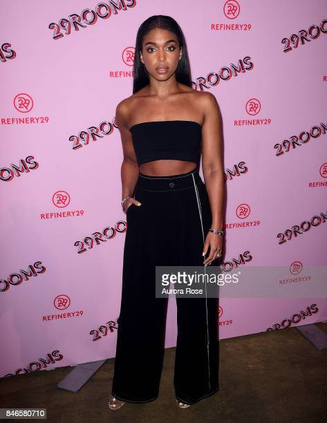 Lori Harvey attends Refinery29's 29Rooms Turn It Into Art at 106 Wythe Ave on September 7 2017 in New York City