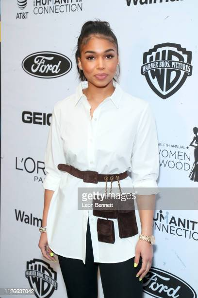 Lori Harvey attends the 2019 Essence Black Women in Hollywood Awards Luncheon at Regent Beverly Wilshire Hotel on February 21 2019 in Los Angeles...