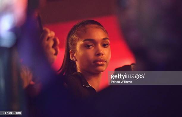 Lori Harvey attends the Official Revolt Summit after party at Compound on September 15 2019 in Atlanta Georgia