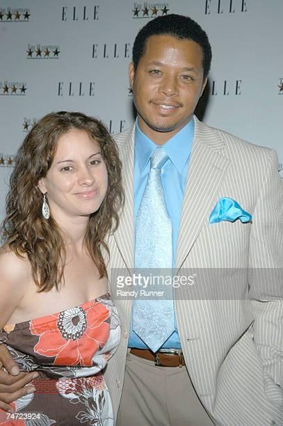 Lori Howard and Terrence Howard at the Southhampton UA Cinema in Southhampton New York