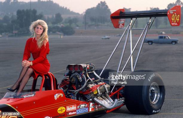 Lori Johns doesn't just travel in the fast lane she lives in it Johns' forte is driving a Top Fuel dragster a machine more than 24 feet long to which...