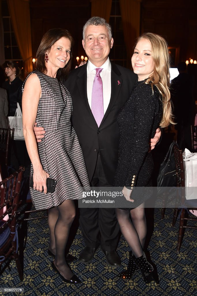 Lori Kanter Tritsch, William Lauder and Danielle Lauder attend Symrise's Achim Daub & ReVive's Elena Drell Szyfer honored at BEYOND BEAUTY Dinner 2018; Special Speaker: Actor and Mental Health Advocate Danielle Lauder at The Union League Club on February 15, 2018 in New York City.