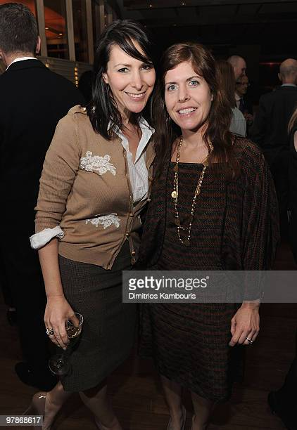 NEW YORK MARCH 18 Lori Levine and Amy Galleazzi attend a party for Charla Krupp to launch her new book How to Never Look Fat Again hosted by People...
